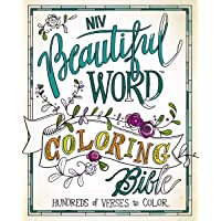 Beautiful Word Coloring Bible-NIV: Hundreds of Verses to Color