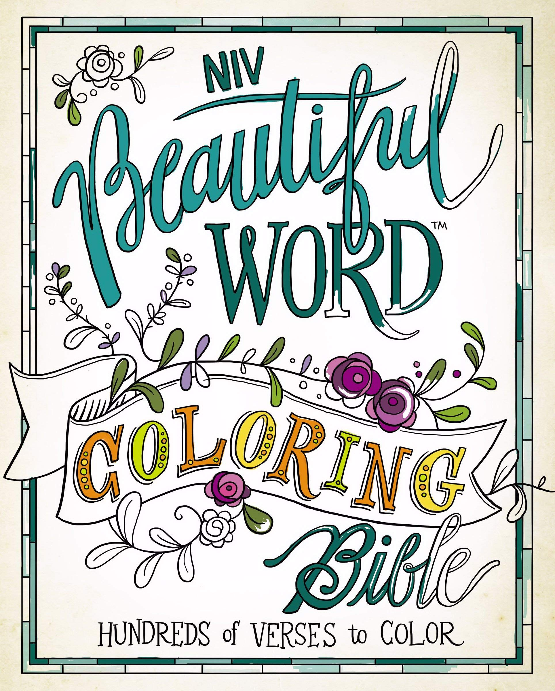 niv beautiful word coloring bible hardcover hundreds of verses to Be Still and Know Bible Verse follow the author