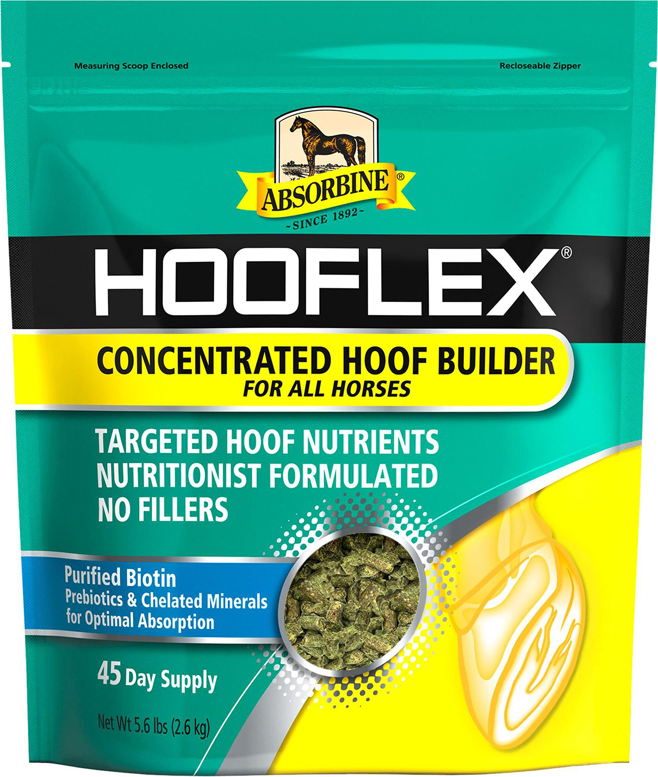 W F YOUNG INC Absorbine Hooflex Concentrated Hoof Builder 45 Day Supply