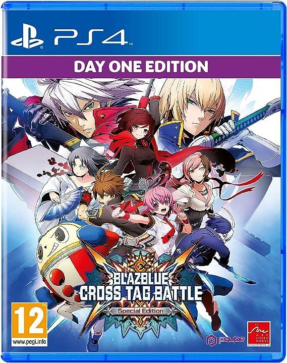 Blazblue Cross Tag Battle - Day One Edition (Special Edition): Amazon.es: Videojuegos