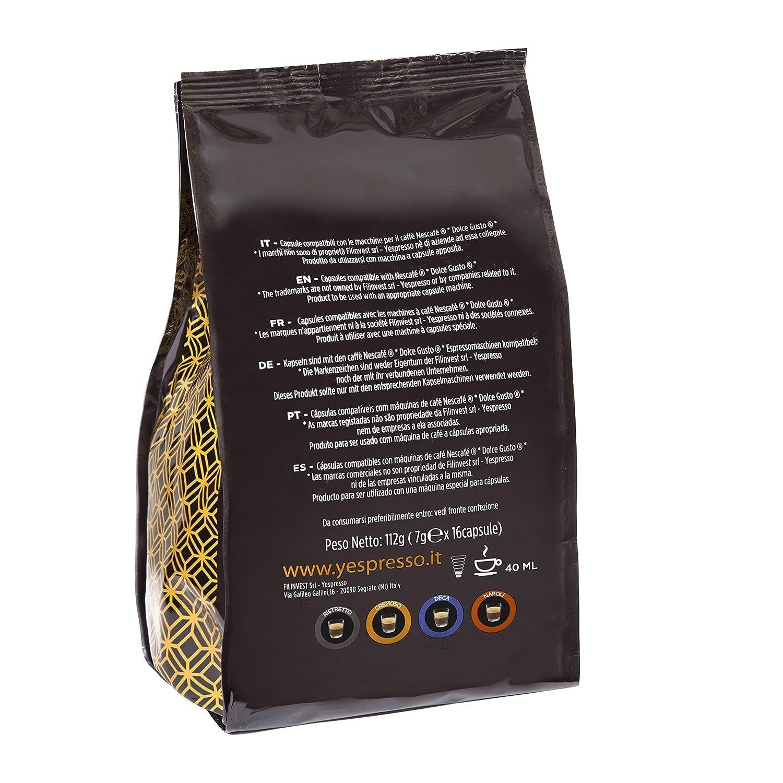 32 CÁPSULAS COMPATIBLES NESCAFE DOLCE GUSTO - CREMOSO: Amazon.es: Alimentación y bebidas