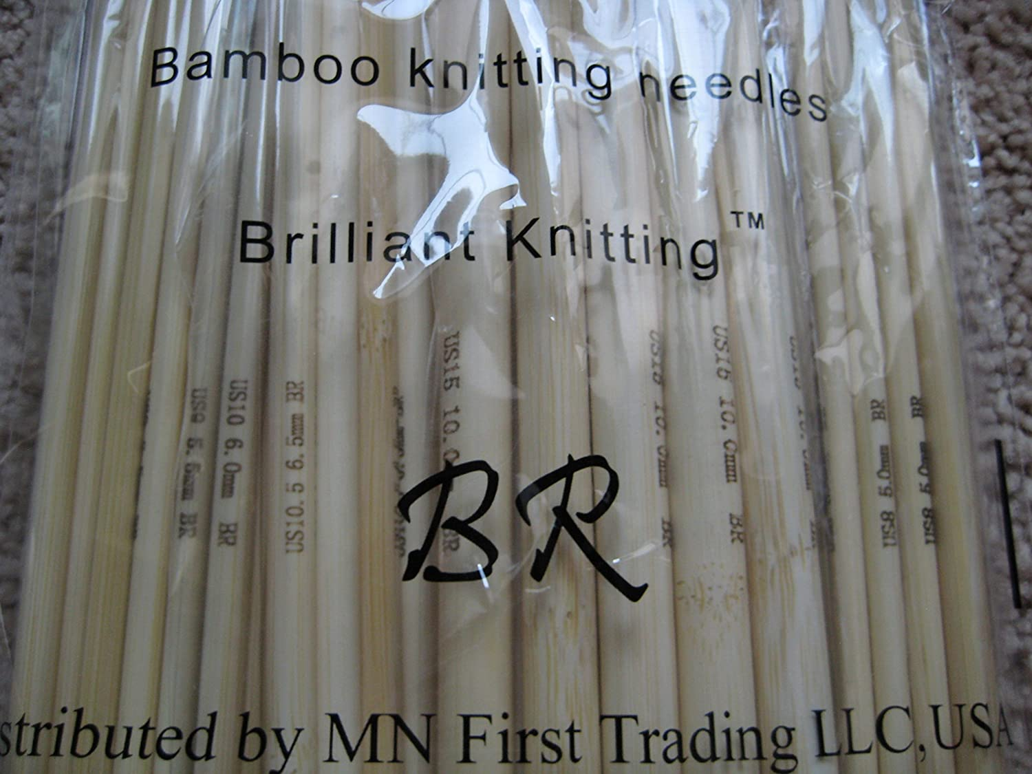 knitting needles different sizes 100/% brand new