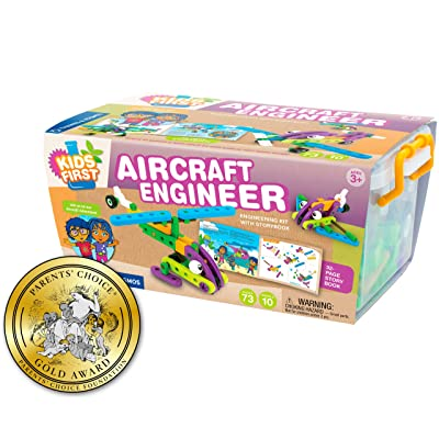 Thames & Kosmos Kids First Aircraft Engineer Kit: Toys & Games