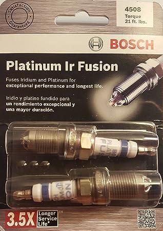 Bosch (4508) fgr8lqi0 Platinum infrarrojos Fusion Bujía, (Pack de 2): Amazon.es: Jardín