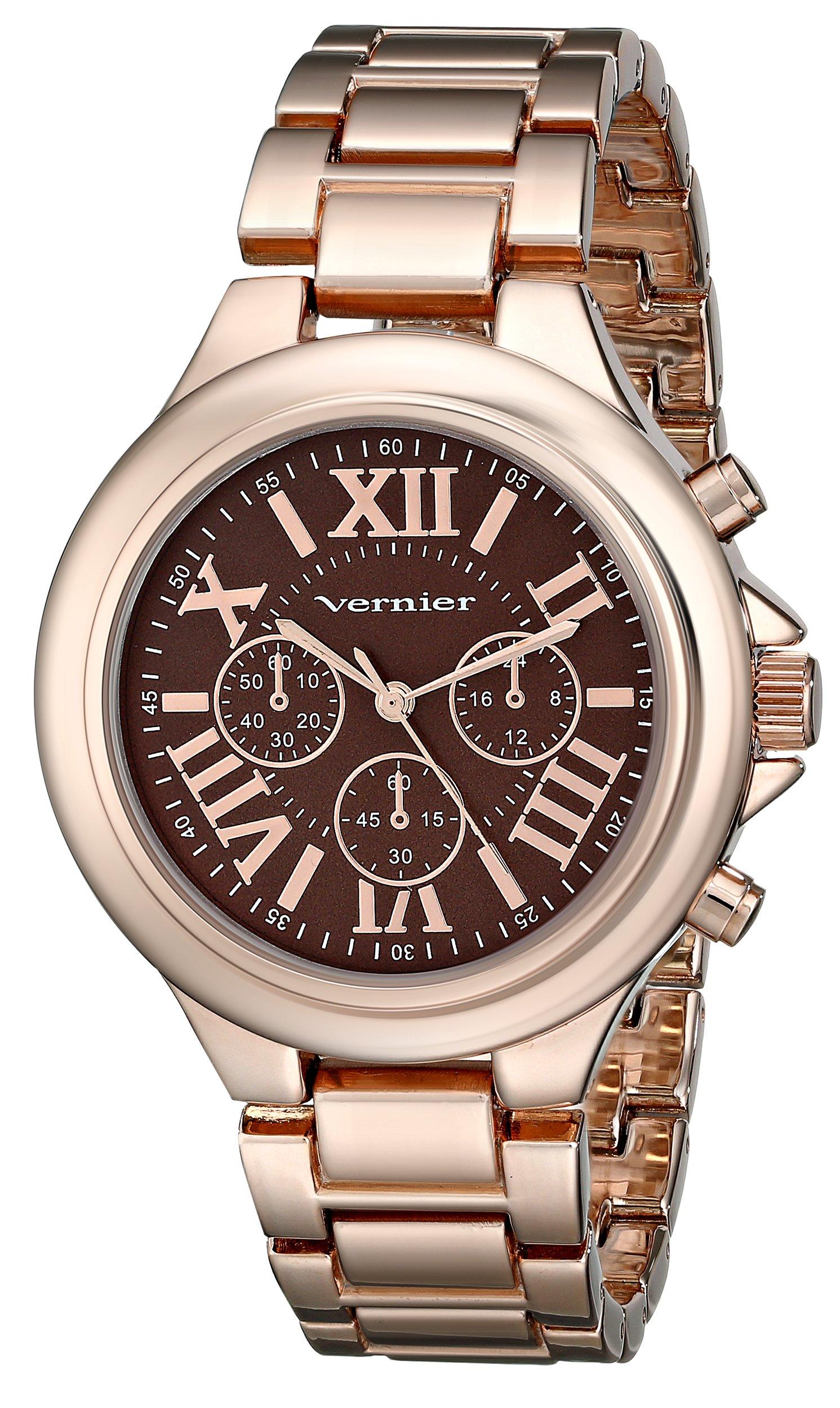 Vernier Women's VNR11157RG Vernier Rose Gold-Tone Watch