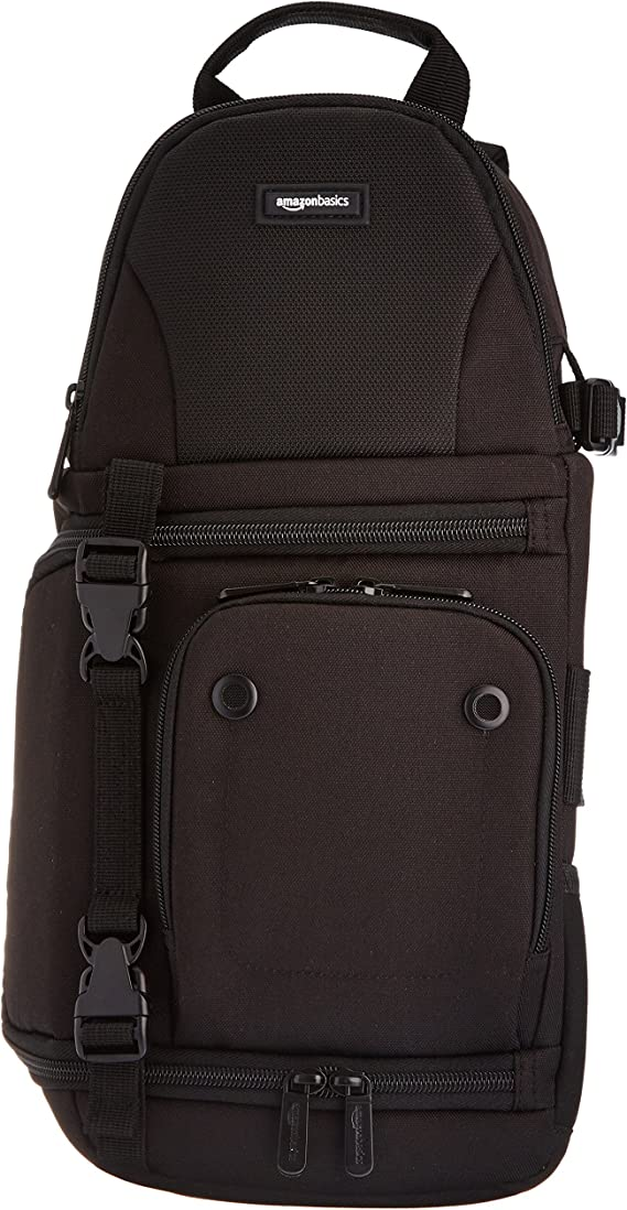 AmazonBasics Camera Sling Bag - 8 x 6 x 15 Inches
