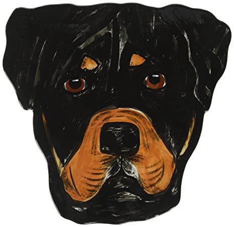 Amazoncom Pavilion Rescue Me Now Rottweiler Ear Plate George 10