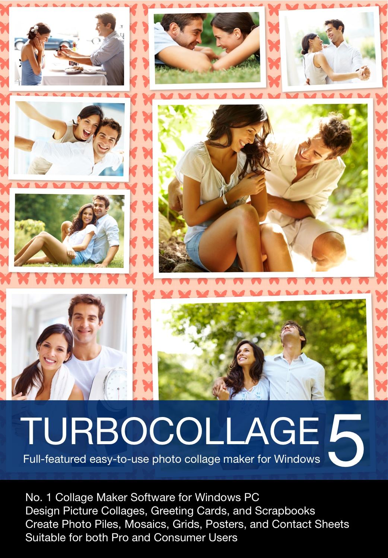 TurboCollage 5 for Windows (Hallmark Greeting Card Software)