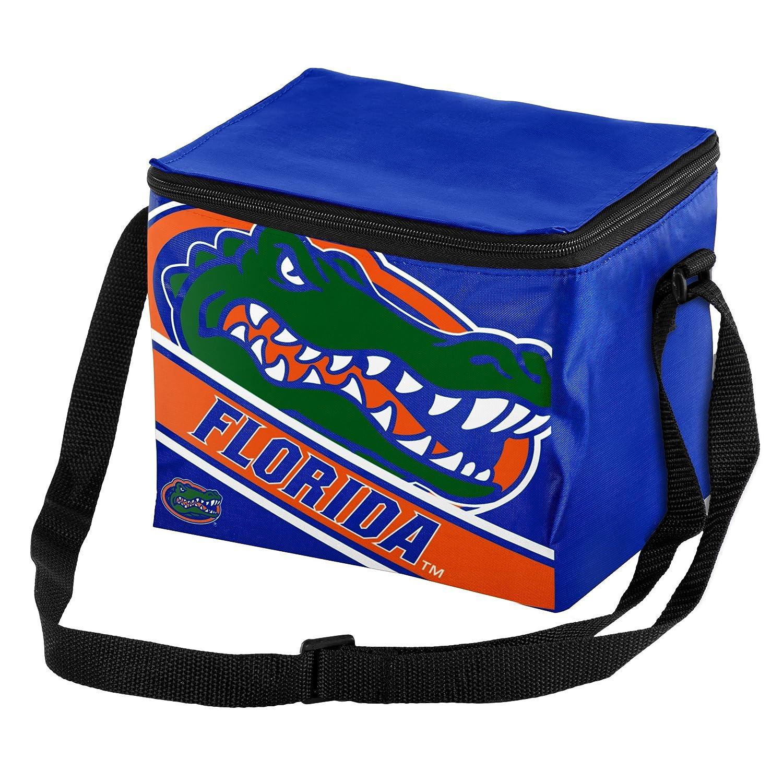 FOCO NCAA Unisex Big Logo Stripe 6 Pack Cooler