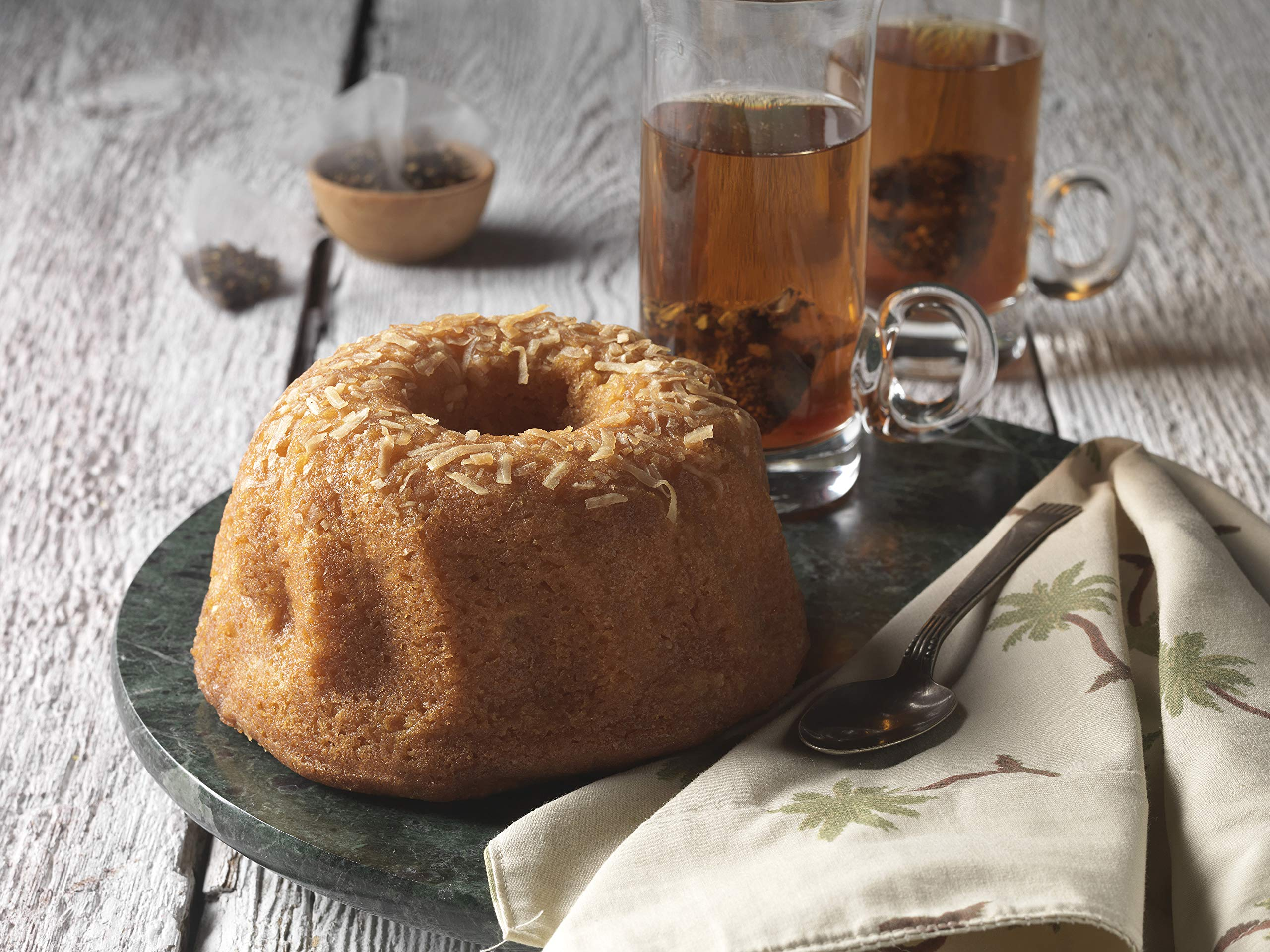 TORTUGA Caribbean Coconut Rum Cake - 4 oz. - The Perfect Premium Gourmet Gifts