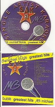 Hits of MICHAEL BUBLE Single Artist Karaoke CDG SAK #3 Karaoke