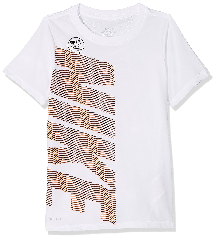Nike Ragazzo Dry Therma Manica Corta t Shirt: Amazon.it