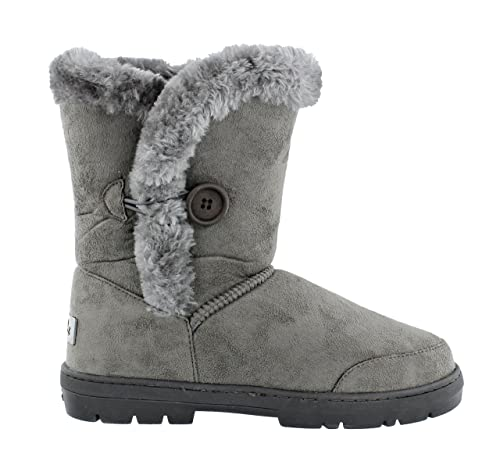 Women s Ella Nina Faux Sheepskin Look Fur Lined Low Warm Boots (UK 3 d023e9c708c9