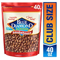 Deals on Blue Diamond Almonds Smokehouse 40 Ounce