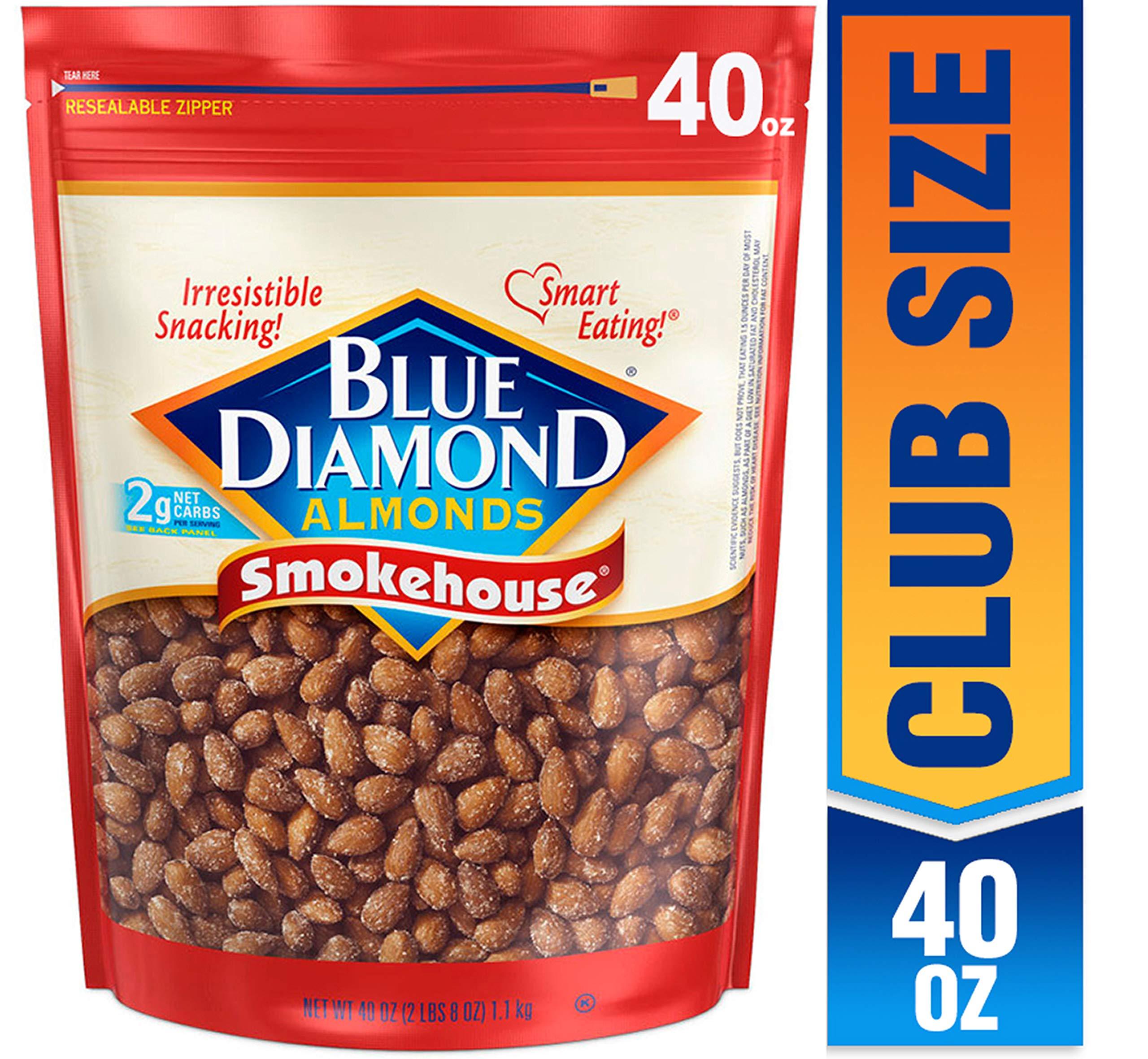 Blue Diamond Almonds, Smokehouse, by Blue Diamond Almonds