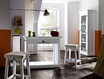 Halifax Landhausmöbel Küchentisch Set Weiss Shabby Chic
