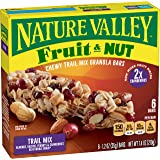 Nature Valley Chewy Granola Bar, Trail Mix, Fruit and Nut, 6 Bars - 1.2 oz
