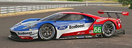 Ford Gt X Alms Race Car Poster Shelby Muscle Car