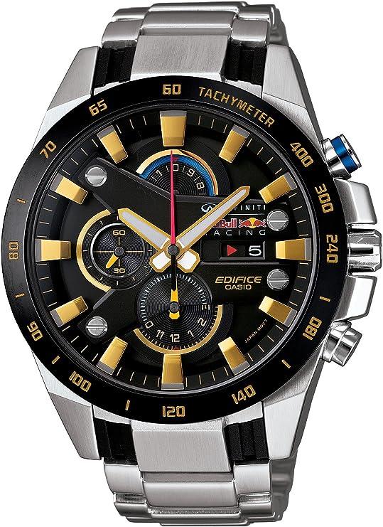 [カシオ] 腕時計 エディフィス Infiniti Red Bull Racingタイアップモデル EFR-540RB-1AJR シルバー