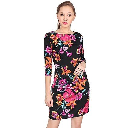 Bazoom Women Floral Sheath Dress