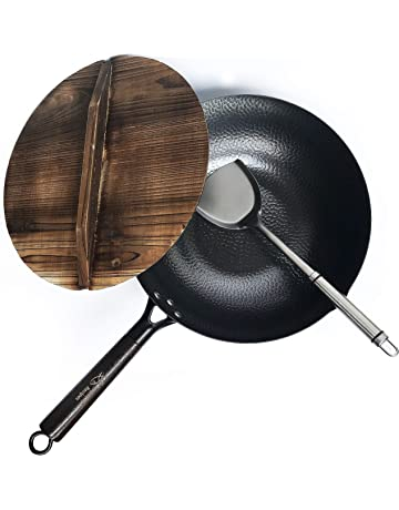 Amazon.com: Woks y Sartenes para Saltear: Hogar y Cocina
