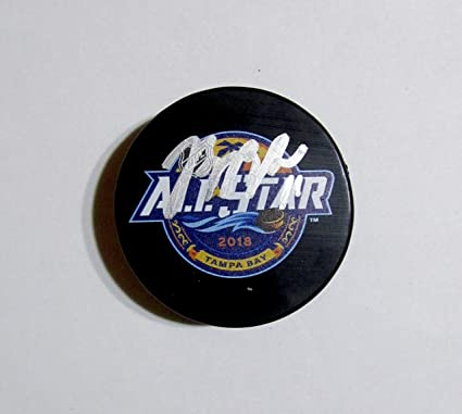 BRIAN BOYLE AUTOGRAPHED Hand SIGNED 2018 ALL-STAR Puck New Jersey DEVILS  w COA 1e58198ff