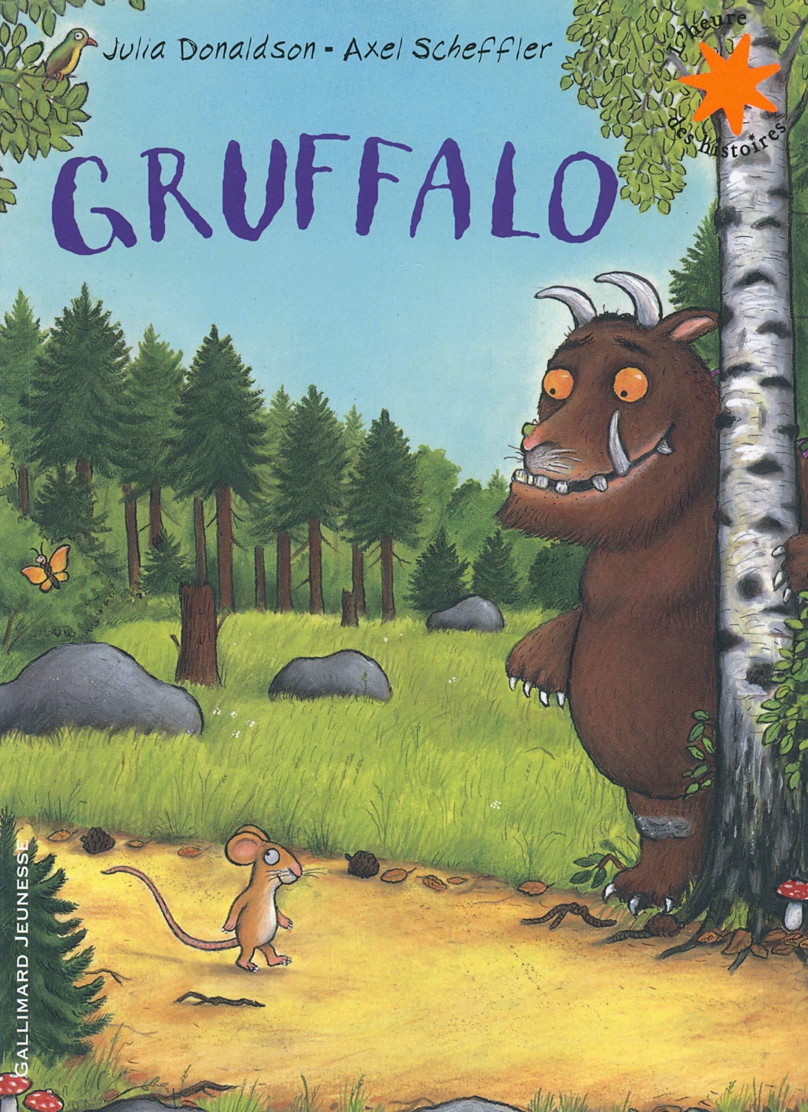 Gruffalo (Lheure des histoires): Amazon.es: Donaldson,Julia, Scheffler,Axel, Ménard,Jean-François: Libros en idiomas extranjeros