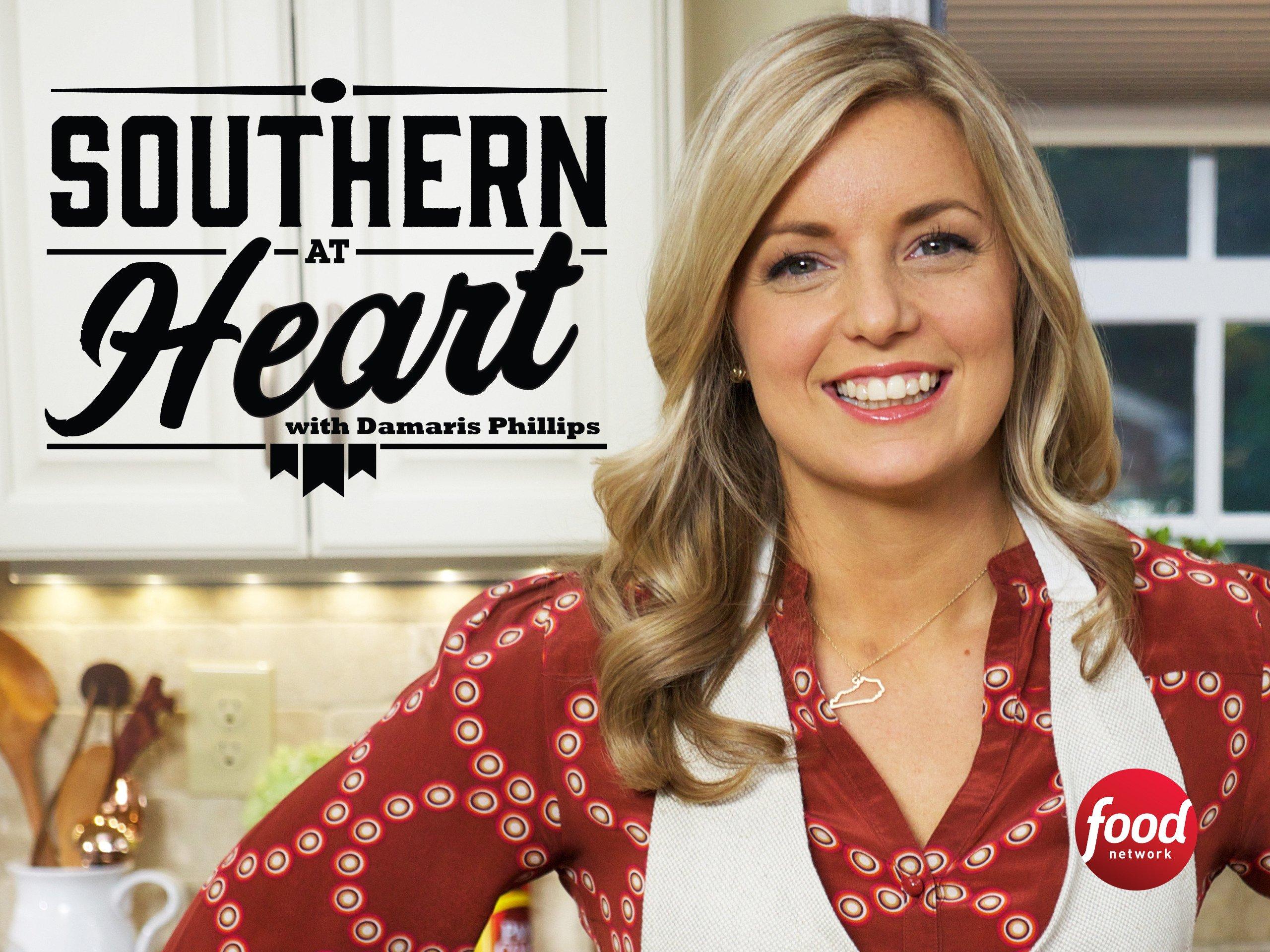 The host of  Southern at Heart, Damaris Phillips
