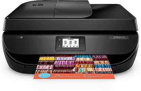 HP OfficeJet 4656 - Impresora multifunción inalámbrica (inyección térmica de tinta, WiFi) - B/N 9.5 PPM, color 6.8 PPM, color negro