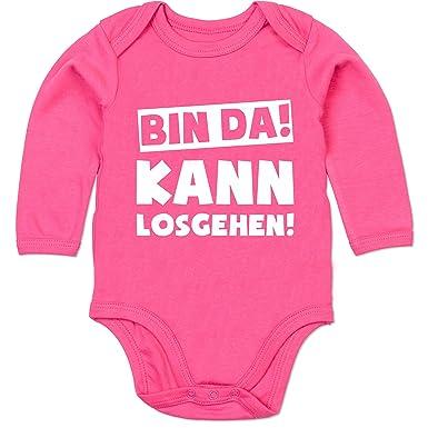 Shirtracer Spruche Baby Bin Da Kann Losgehen Baby Body Langarm