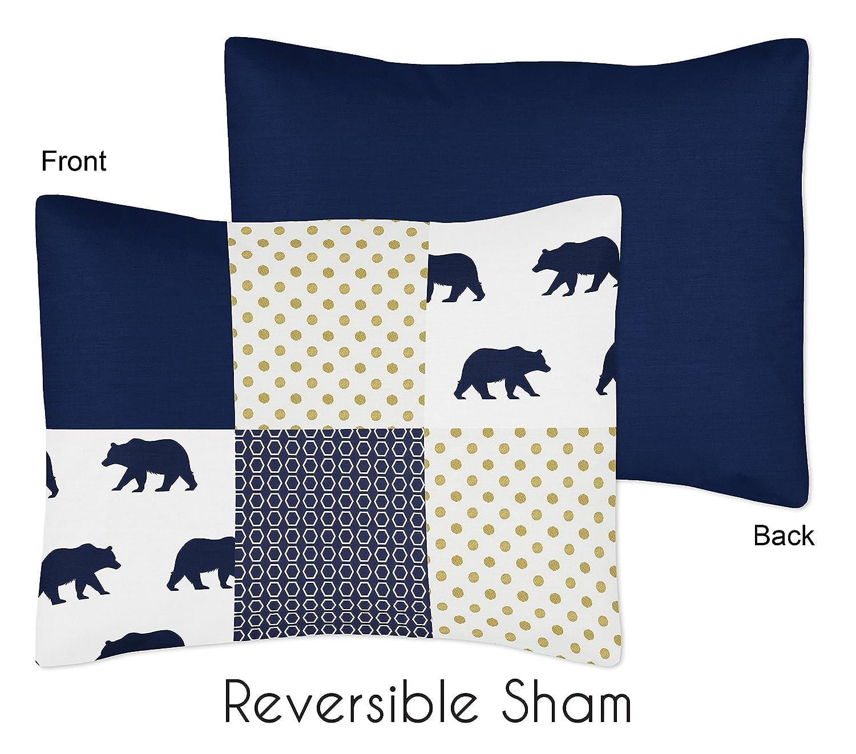 Amazon.com: Sweet diseños Jojo 5-Piece Blanco y Azul Marino ...