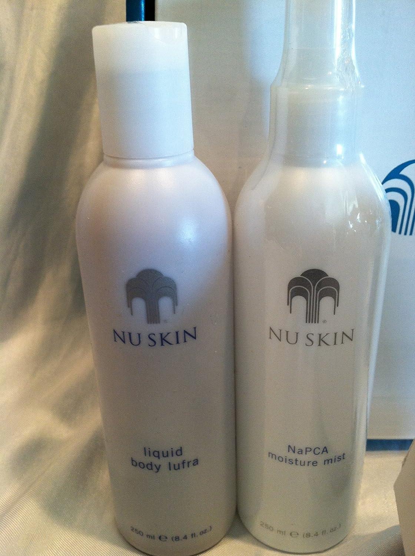 Nu Skin Redesign Ageloc Galvanic Body Spa Beauty Scrub Liquid Lufra 250ml