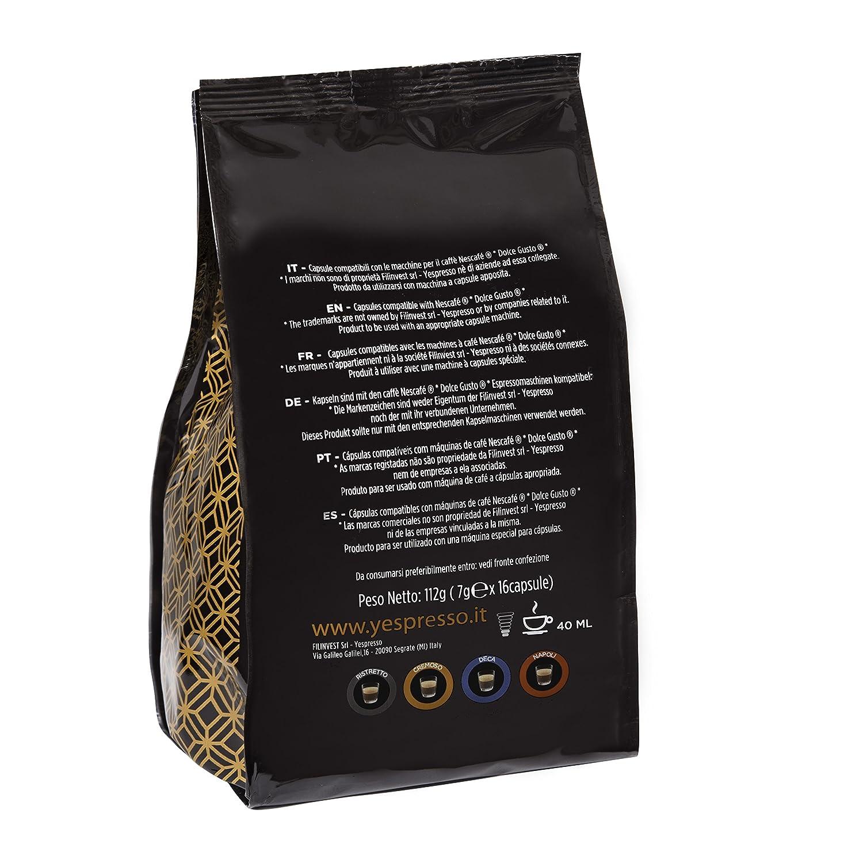 Cápsulas Nescafè dolce gusto compatible (NAPOLI, 64 cápsulas): Amazon.es: Alimentación y bebidas