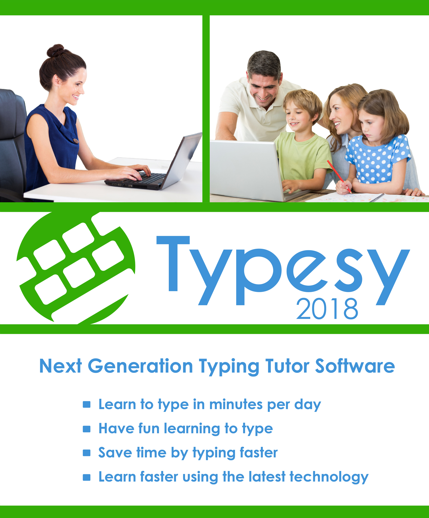 Typesy - Typing Tutor Software [Download] by eReflect