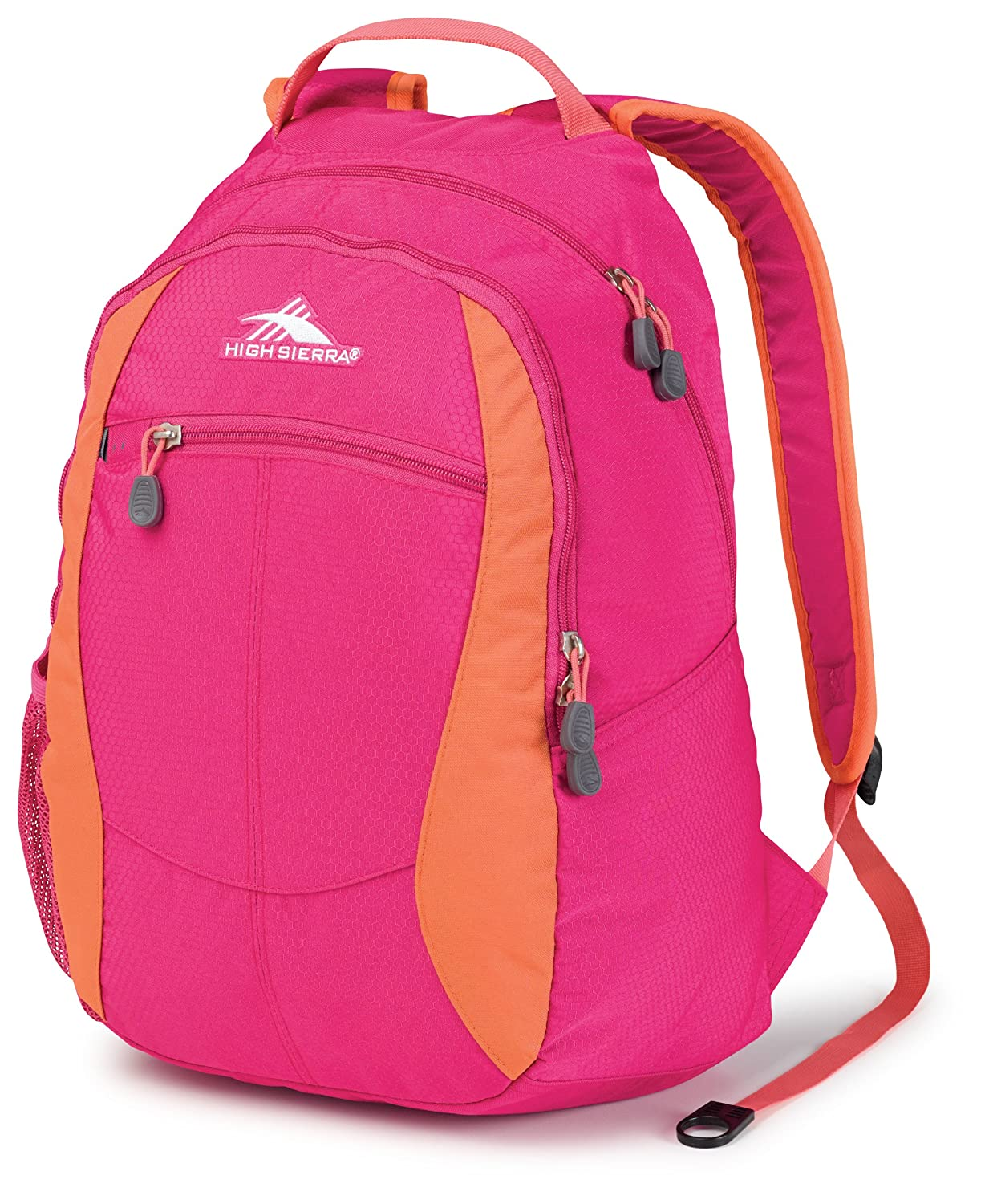 High Sierra Curve Backpack, Fuchsia/Coral