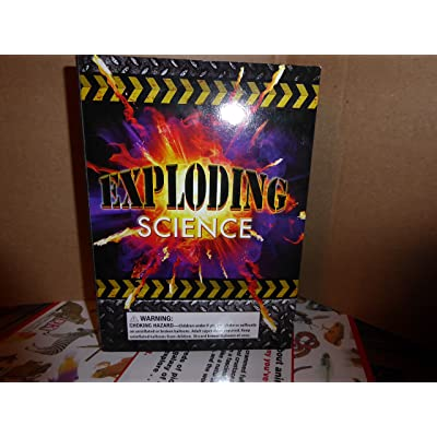 "Scholastic Exploding Science (Book + kit with 15 ""Exploding Experiments) Ages 8+: Toys & Games"