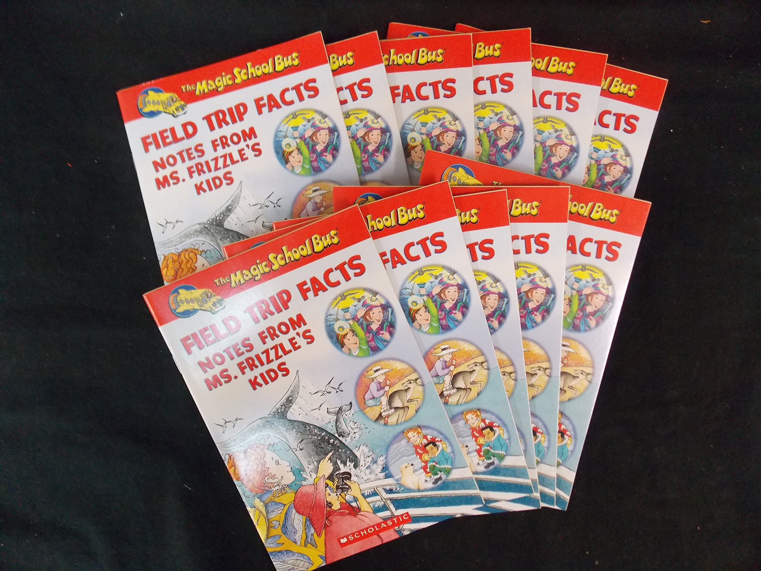 The Magic School Bus, Field Trip Facts Notes From Ms Frizzle's Kids, Total 11 Books, Great for Teacher pdf