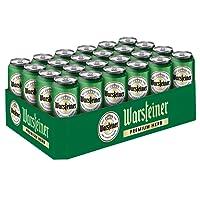 Warsteiner Herb Pils – 24 x 0,5 Liter Dosenbier – Kraftvolles Bier nach deutschem Reinheitsgebot – Palette Bier auch im Spar-Abo erhältlich