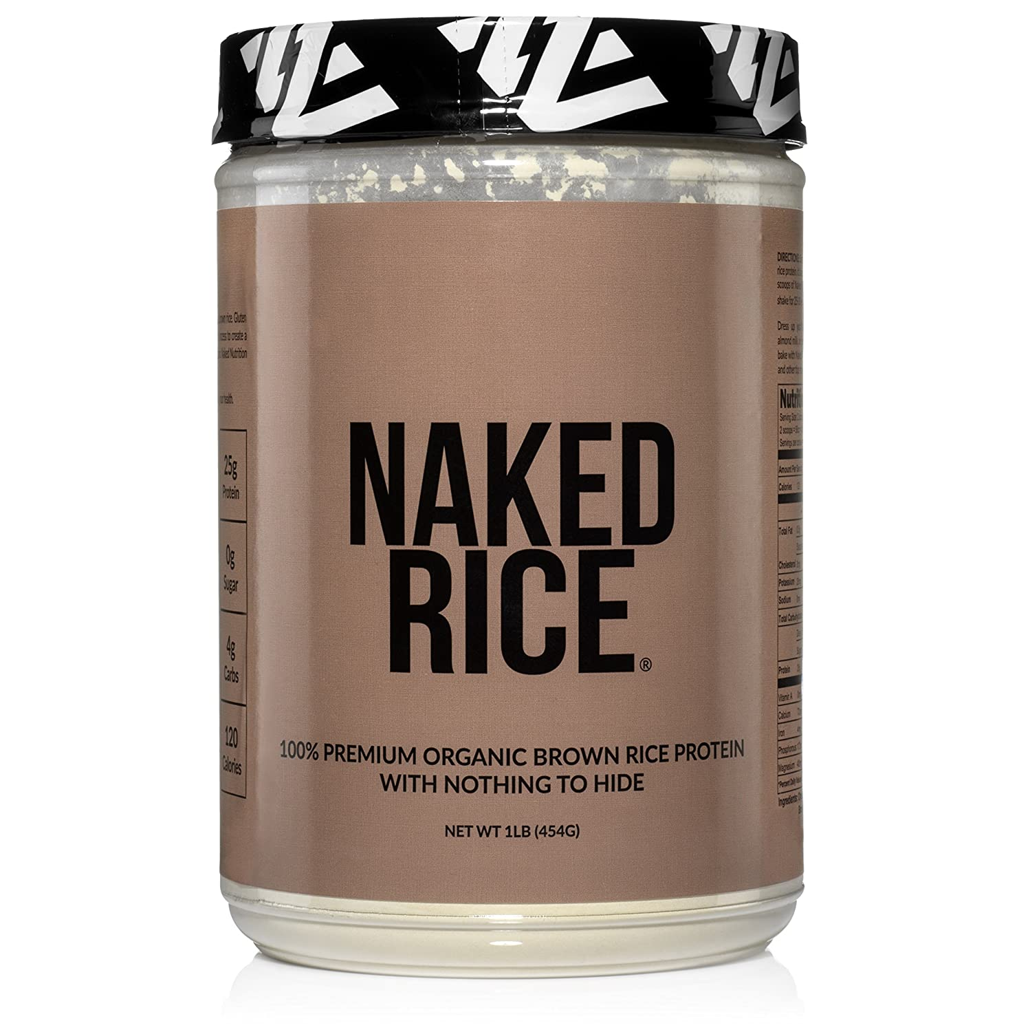 Amazon.com: NAKED RICE 1LB - Organic Brown Rice Protein Powder ...