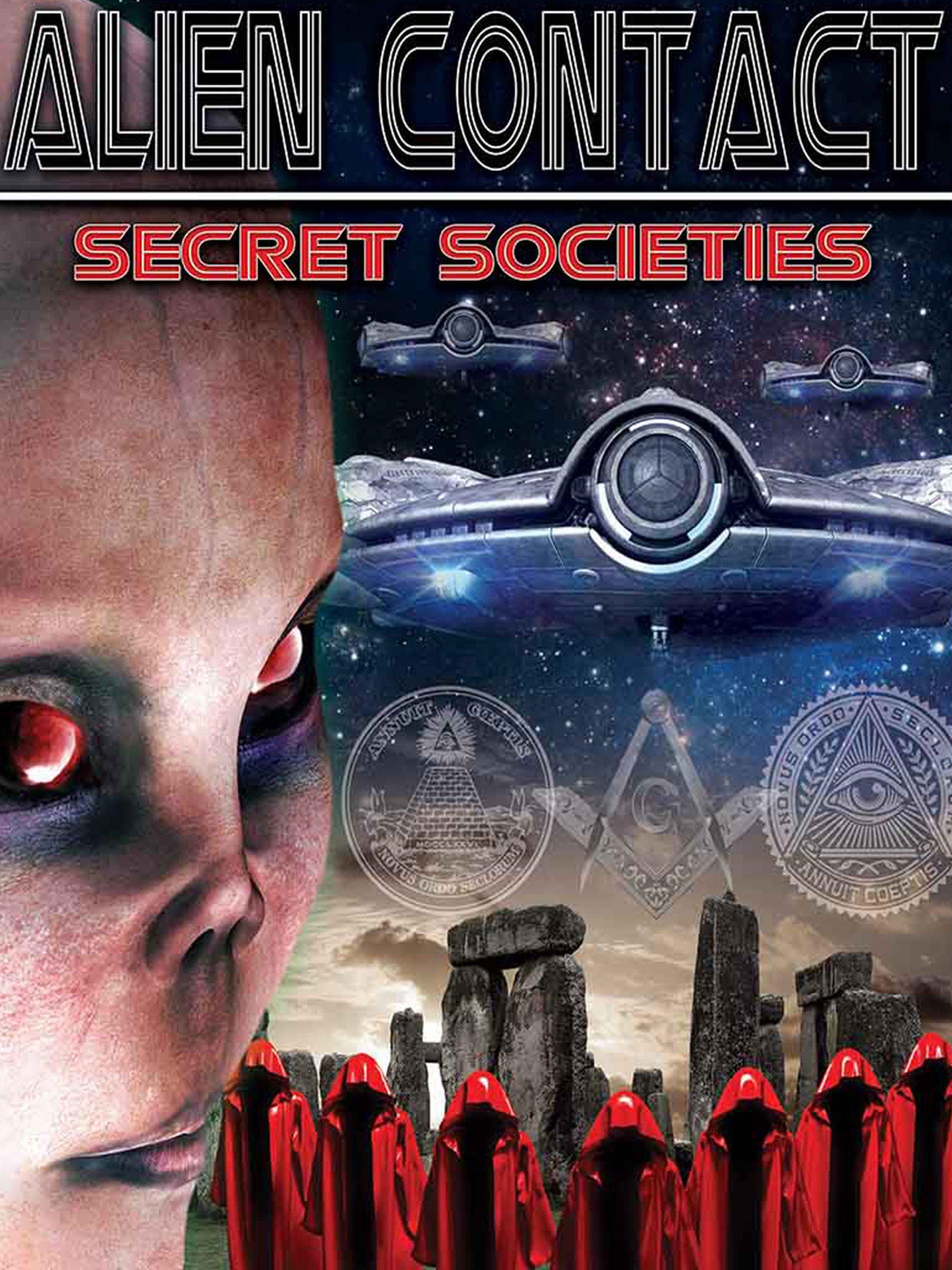 Amazon com: Alien Contact: Secret Societies: Robert Mathison