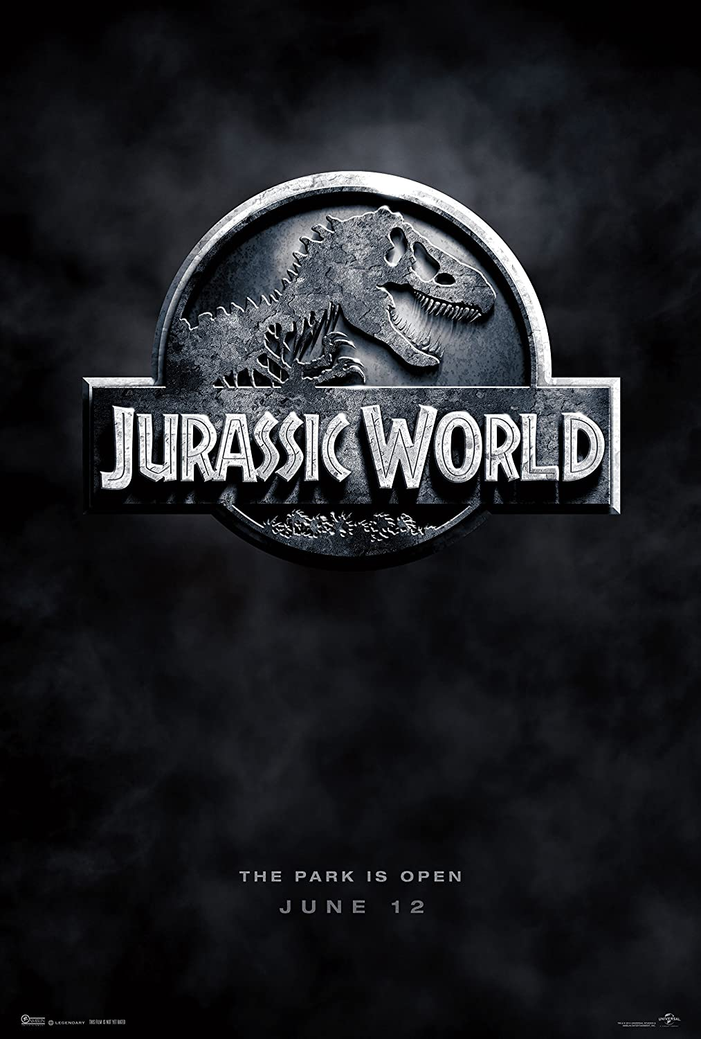 "Jurassic World (2015) Movie Poster 24 x 36"" Inches , Glossy Finish (Thick): Chris Pratt, Bryce Howard Dallas"