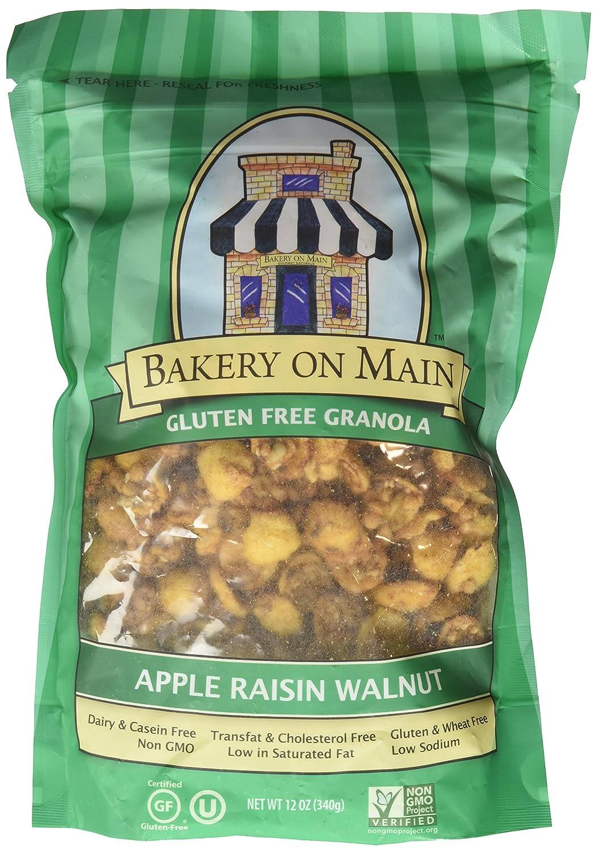 Bakery on Main Granola Gluten Free Apple Raisin Walnut, 12 oz