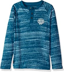 Buffalo by David Bitton Boys Big Long Sleeve Tee