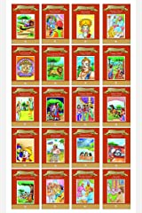 Moral Stories (Illustrated) (Set of 20 Books) - Bitter Truth, Four Suitors, Delicate Queens, Ali the Persian, The Gift, Monkey Wazir, Happy Monk, ... Thirsty Crow, Akbar and Birbal, Lord Ganesha Paperback