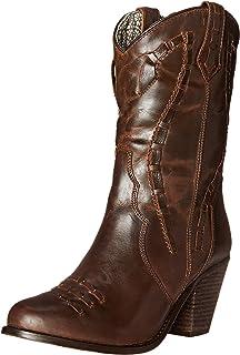 45b1ee9b47b Amazon.com | Dingo Women's Twisted Sister Boot | Mid-Calf