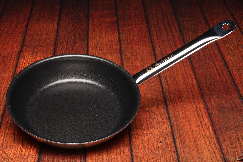 Amazon.com: Swiss Diamond 99524 HD Pro Nonstick Fry Pan, 9.5-Inch: Stir Fry Pans: Kitchen & Dining
