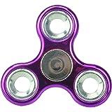 Fidget Hand Spinner exclusif - Réducteur de stress, Soulagement de stress, Autisme - POCHETTE METALLIQUE