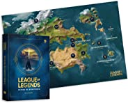 League of Legends: Reinos de Runeterra (Acompanha Mapa)