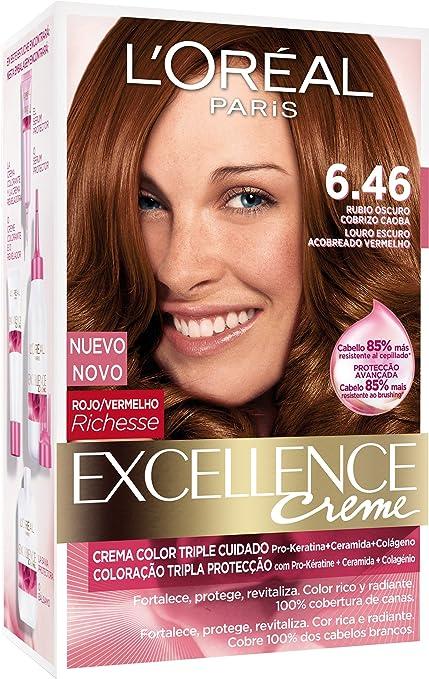 LOréal Paris Excellence Crème Triple Protección Coloración ...