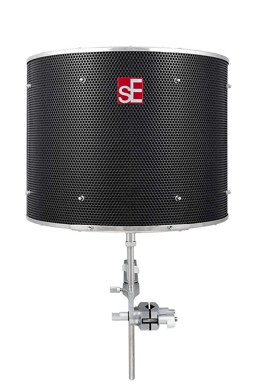 sE Electronics Reflexion Filter Pro/Black ポータブルアコースティックトリートメントデバイス【国内正規品】 B073RCP4GY ブラック ブラック